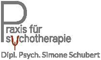 Logo Praxis für Psychotherapie Schubert